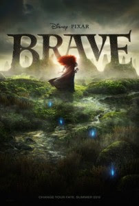Pixar Brave Movie Poster