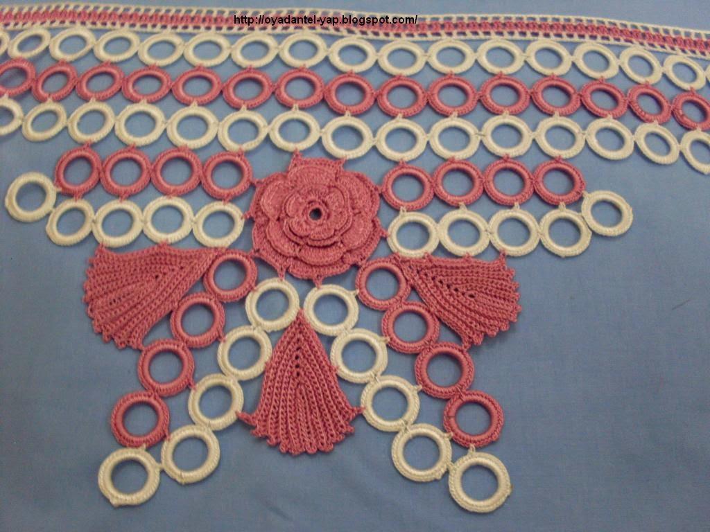 halkalı güzel havlu danteli,havlu kenarı dantelleri,farklı danteller,havlu kenarları,havlu kenarı dantelleri,dantel,dantal