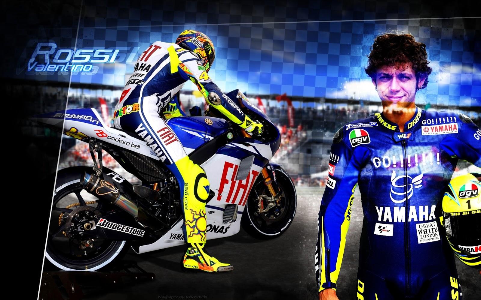 Kumpulan Foto Kartun Lucu Valentino Rossi Gambar Gokil