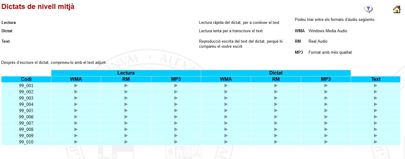http://www.uv.es/spl/v/aprendre/dictats/dictats_mitja.html