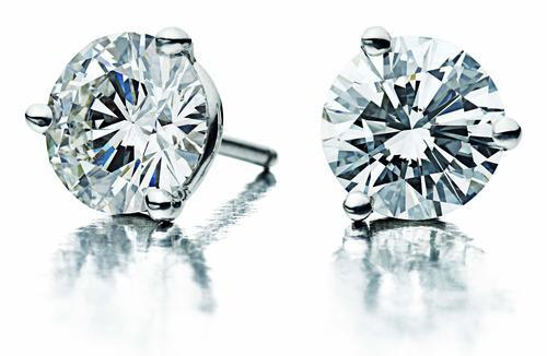 Fashion Diamond Stud Earrings