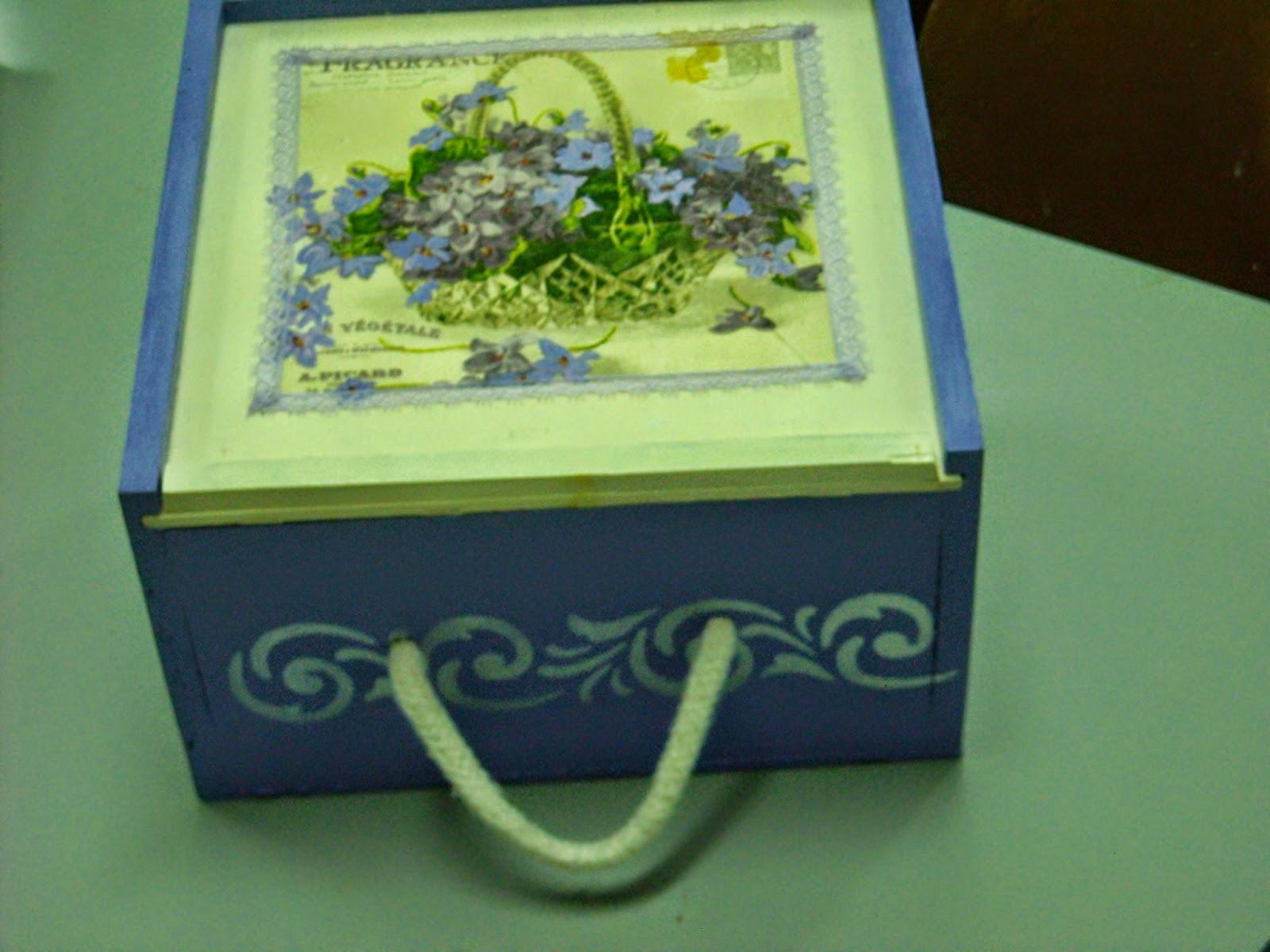 El rinc n de carmen y sus manualidades reciclado de cajas - Cajas para manualidades ...