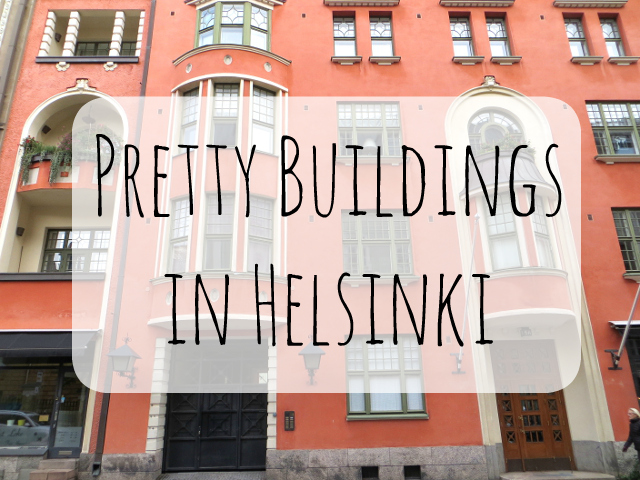 pretty buildings in helsinki