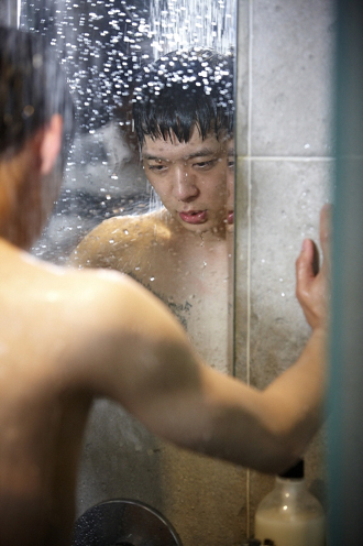 Park Yoochun from the drama    Miss Ripley     reveals the muscularity    Yoochun Shirtless