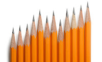 This is a picture of pencils which should show there is no limit to writing