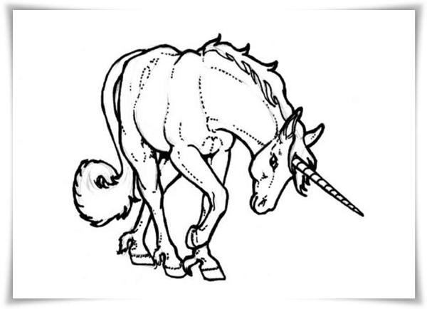 Ausmalbild Einhorn und Pegasus kostenlos 1 - Malvorlagen  - Malvorlagen Pegasus Einhorn