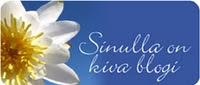 """""""Kiva blogi"""" tunnustus"""