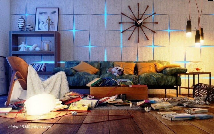Wall painting ideas for living room for Texture paint designs living room