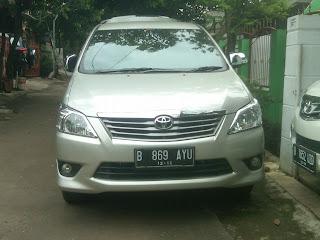 Pengiriman Inova B 869 AYU Jakarta - Medan
