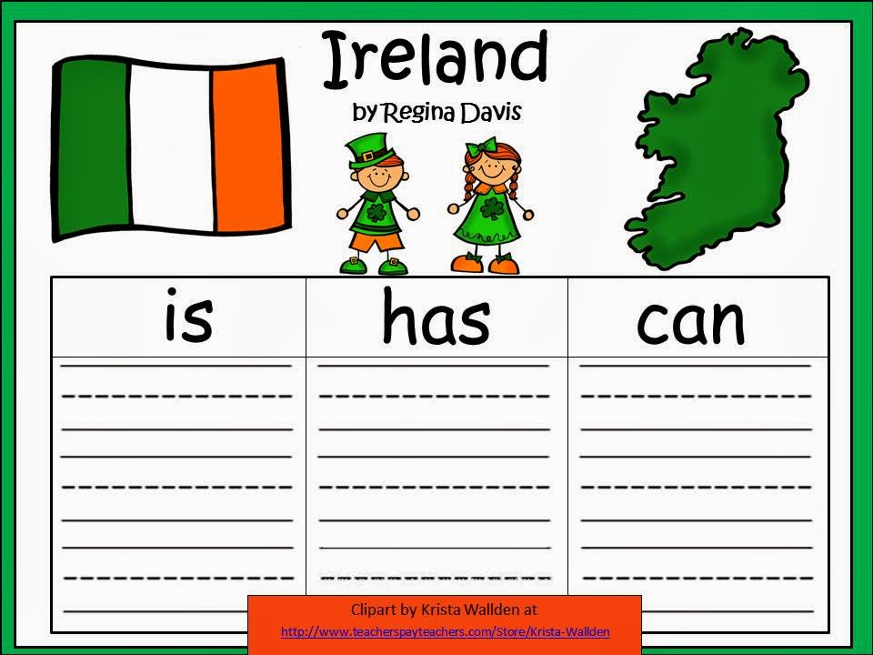 http://www.teacherspayteachers.com/Product/A-Ireland-Three-Graphic-Organizers-563306