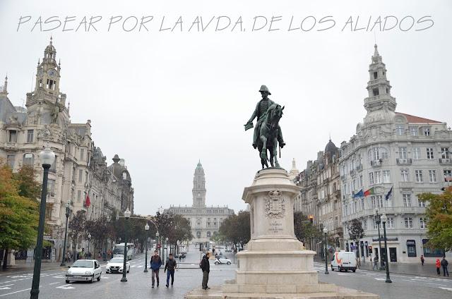 porto-qué-ver-oporto-escapada-viaje-blogger-blog-avenida-aliados