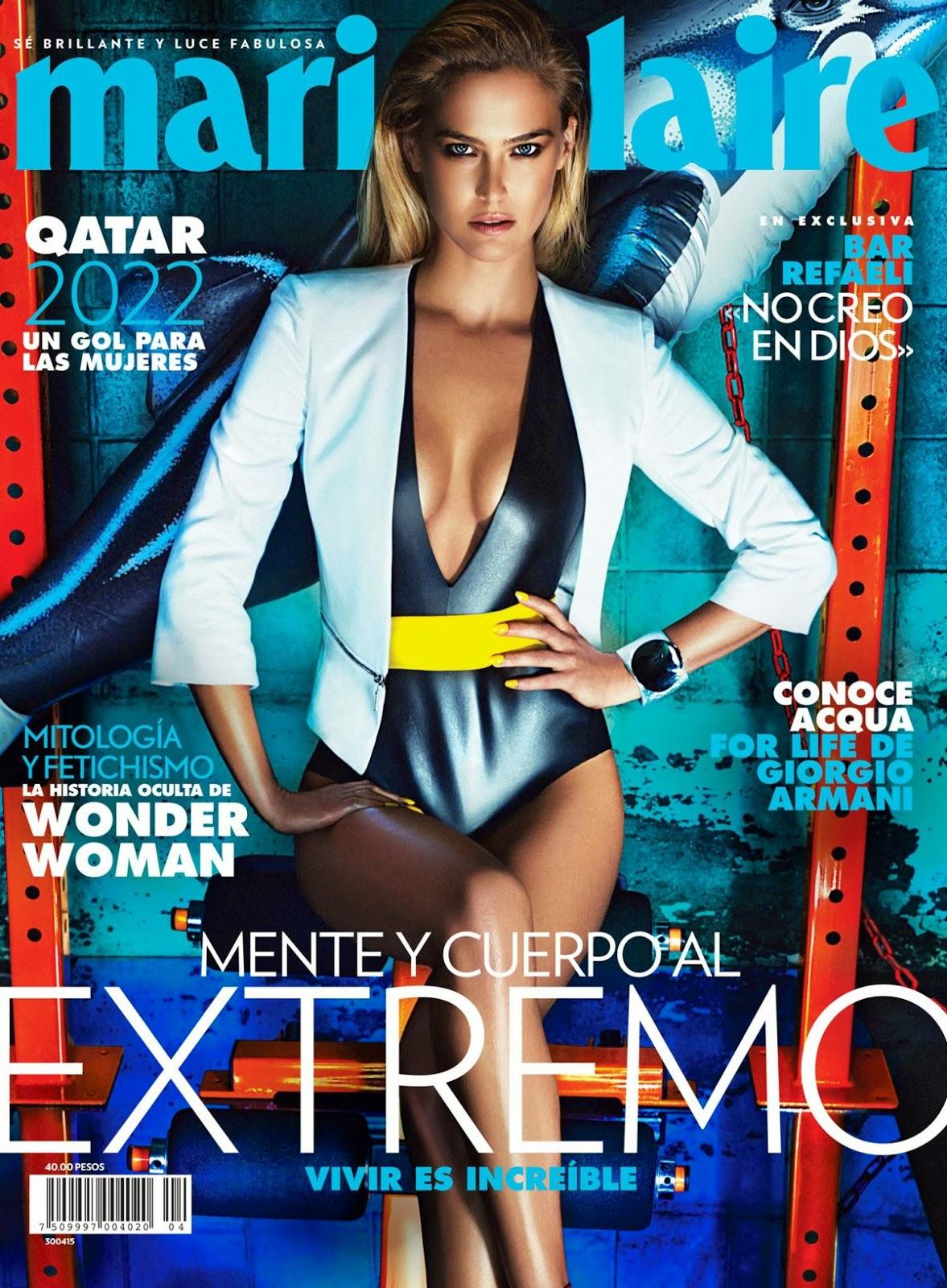 Fashion Model, Actress @ Bar Refaeli - Marie Claire Mexico, April 2015