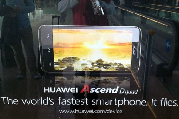 Huawei Ascend D Quad Claimed World's Fastest Smartphone