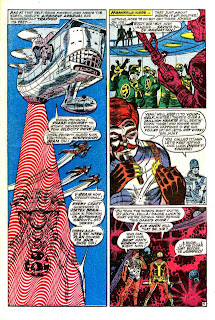 Strange Tales v1 #166 nick fury shield comic book page art by Jim Steranko