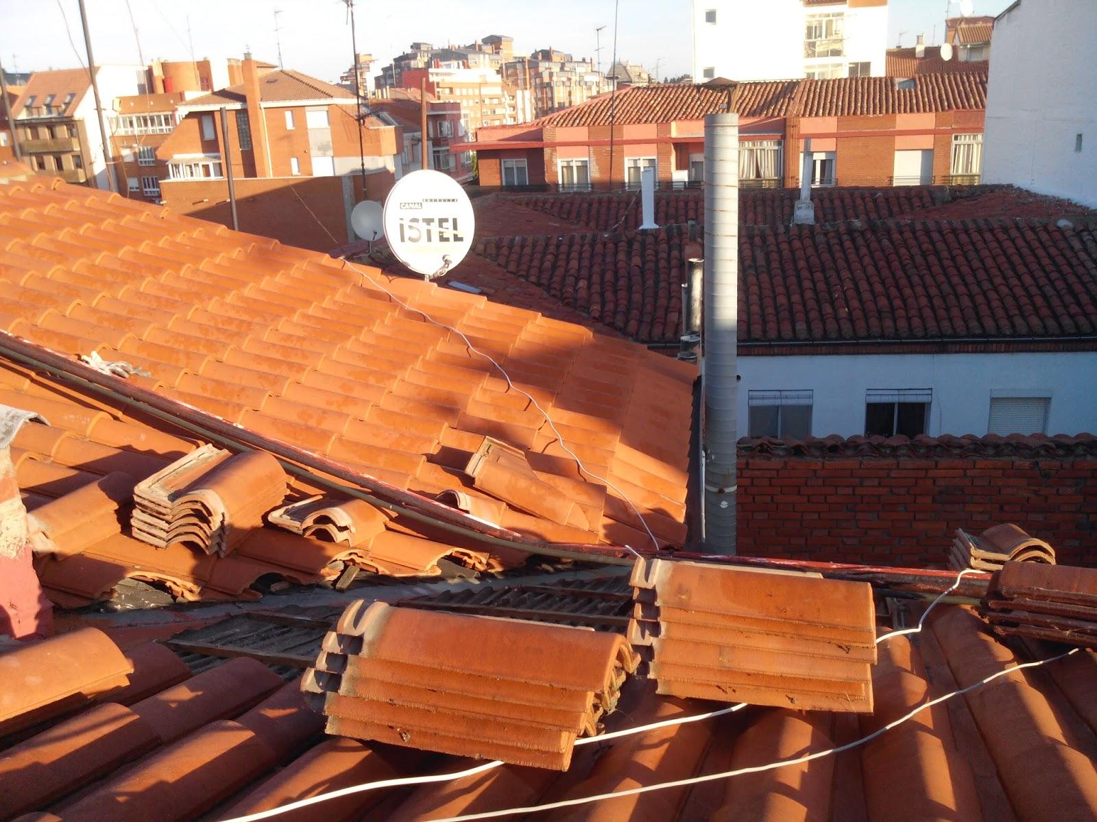 Reformas de Tejados en León. Reformas de Tejados, reparacion de goteras y humedades, presupuestos tlf618848709 y 987846623 en León.