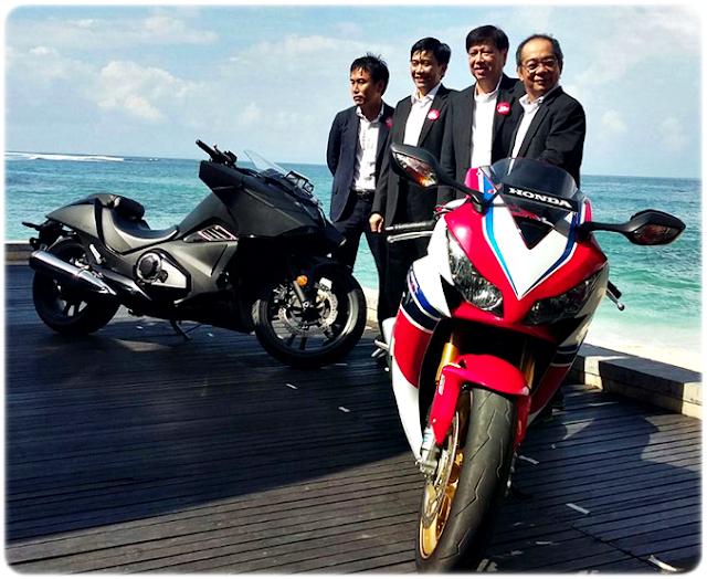6 Moge Big Bike Honda Resmi Diluncurkan AHM di Bali