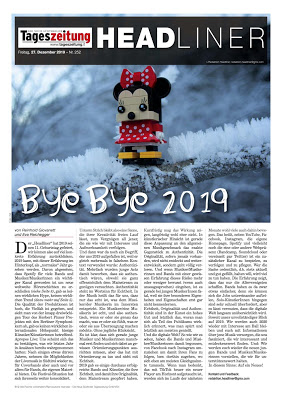 "Headliner #580 - ""Bye bye 2019"""