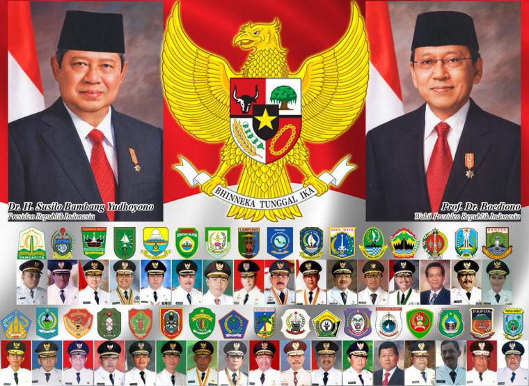 Revolusi Ilmiah - Presiden SBY dan Gubernurnya
