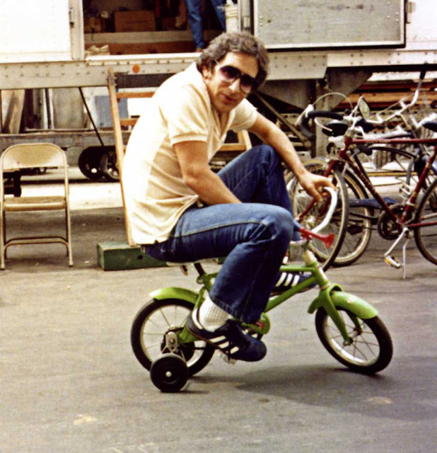 behind the scenes spielberg bike