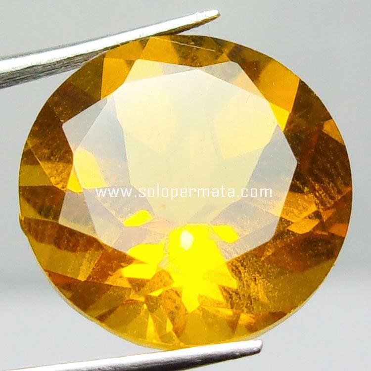 Batu Permata Golden Citrine - 22A09