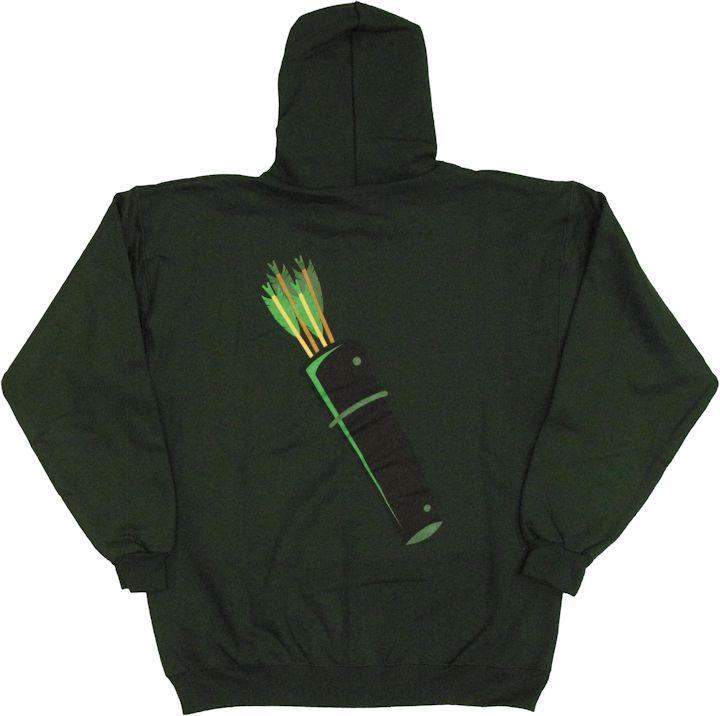 Green Arrow Quiver HoodieGreen Arrow Hoodie