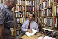 Rick Santorum reading book library dictionary