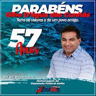 DEPUTADO FEDERAL ELEITO, JOSIMAR DE MARANHÃOZINHO