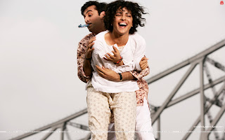 Barfi! HD High Resolution  Wallpapers, Ranbir Kapoor and Priyanka Chopra  as Jhilmil