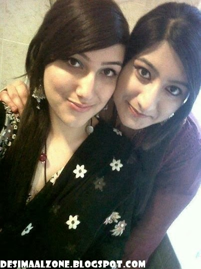 Paki Beautiful Twin Sister In A Party