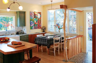 Regreen interior design ideas remodeling green kitchen