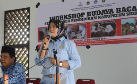 Sidrap Siap jadi Kota Tujuan Studi Banding Budaya Baca