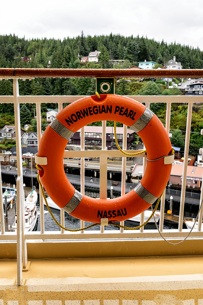 Norwegian Pearl Life Ring