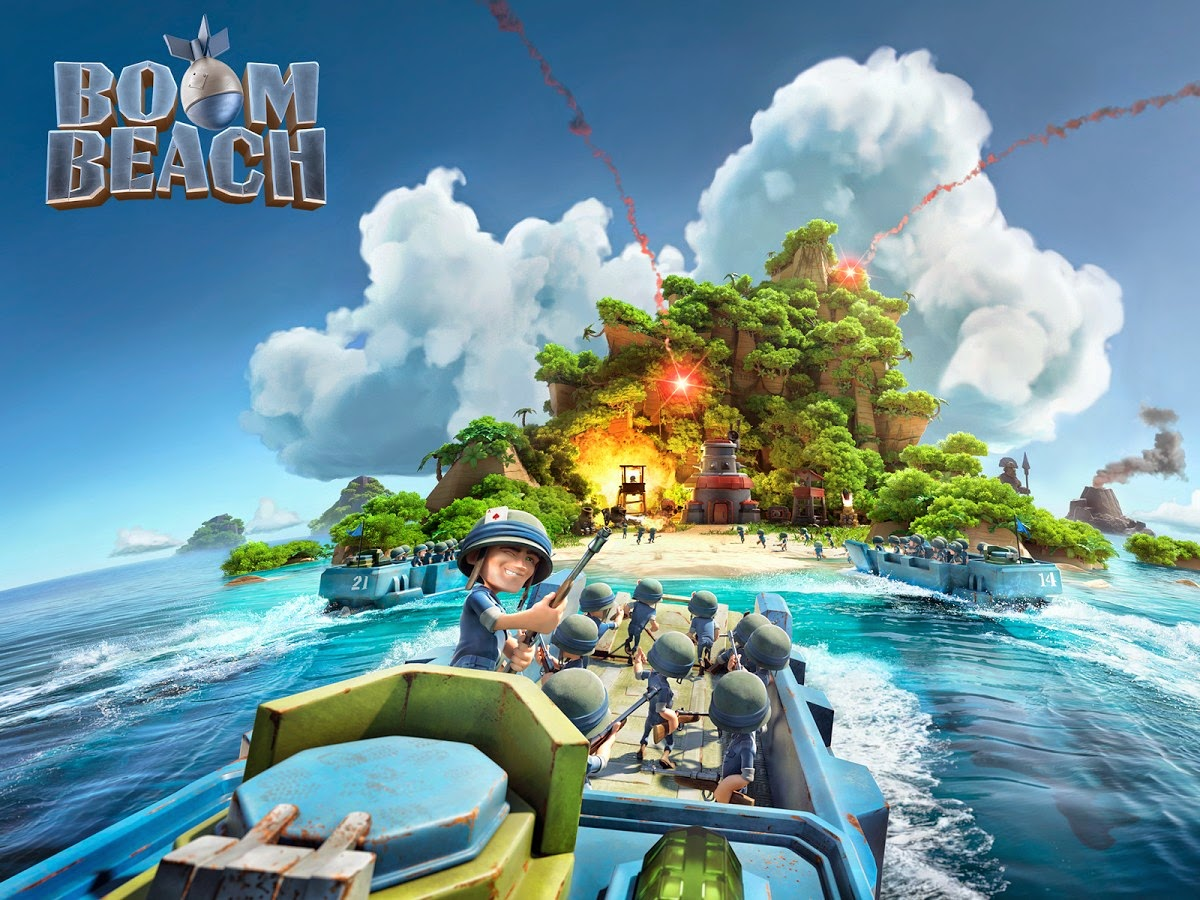 Download-Install BOOM BEACH Android Game for PC[windows 7,8,8.1,xp] Free