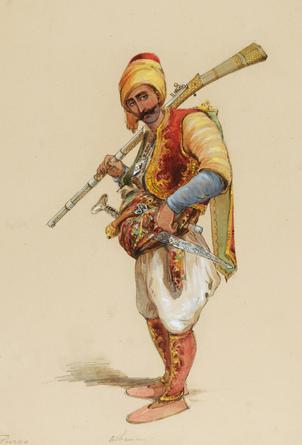 Albanian turk soldier