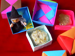 Cajas de origami