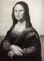 Copy of Mona Lisa by leonardo da vinci by Manju Panchal