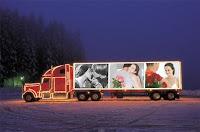 caminhão iluminado