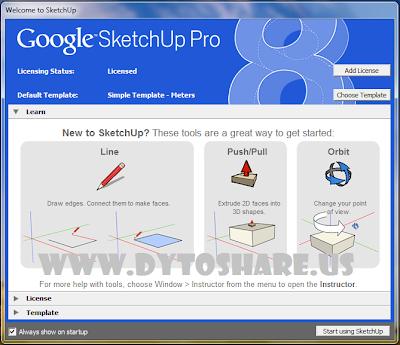 gs+4 Google SketchUp Pro 8.0.14346 + Keygen