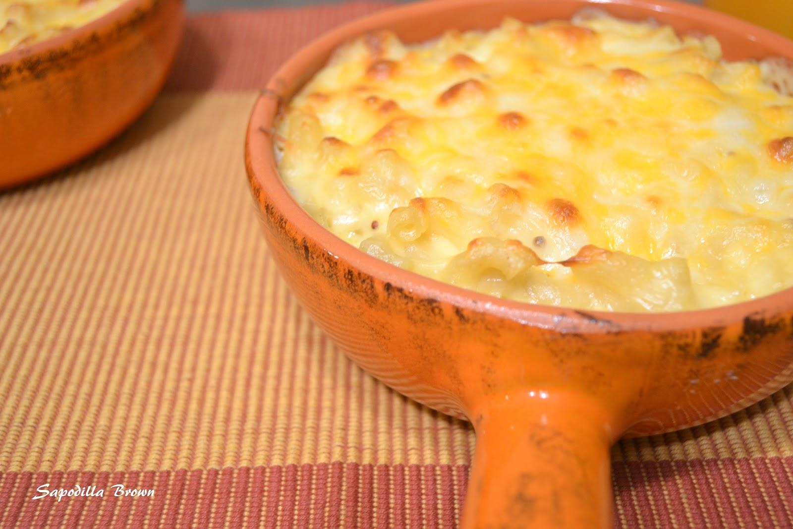 Sapodilla Brown: Mac and Cheese or Macaroni Pie