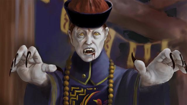 """El Jiang Shi, a menudo conocido en la cultura occidental como el """"zombie chino"""" o el """"vampiro chino"""""""