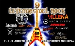 festival Leyendas del Rock 2014