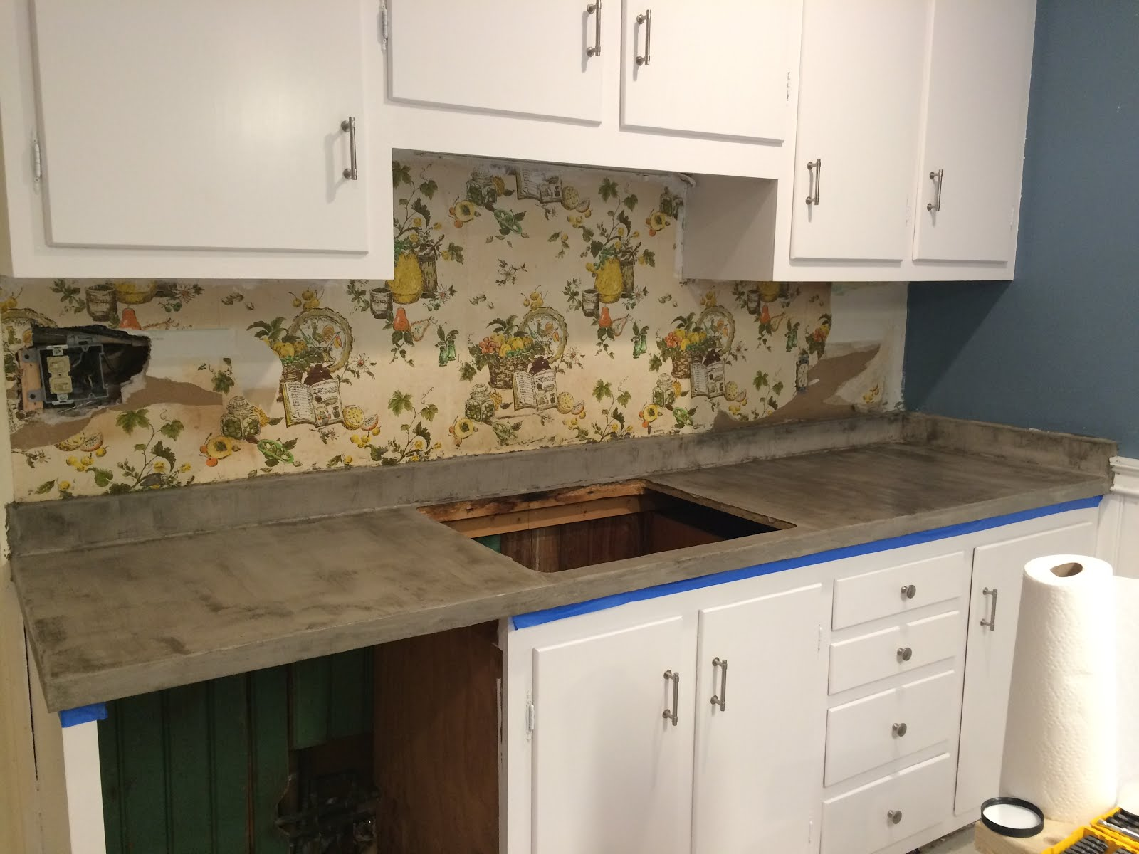 After Letting The Concrete Cure For About 72 Hours, I Sealed The Countertops.  I Used Tuff Duck Concrete Sealer. (available From Amazon).