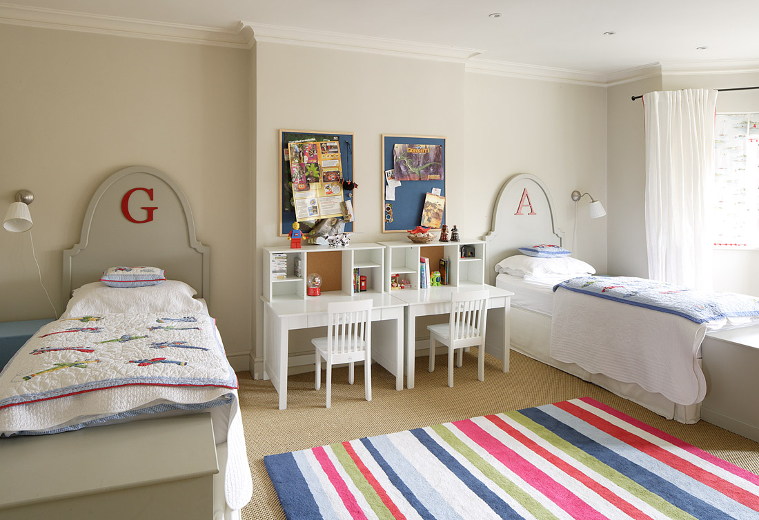 Guest post my design chic home bunch interior design ideas for Children sharing bedroom ideas