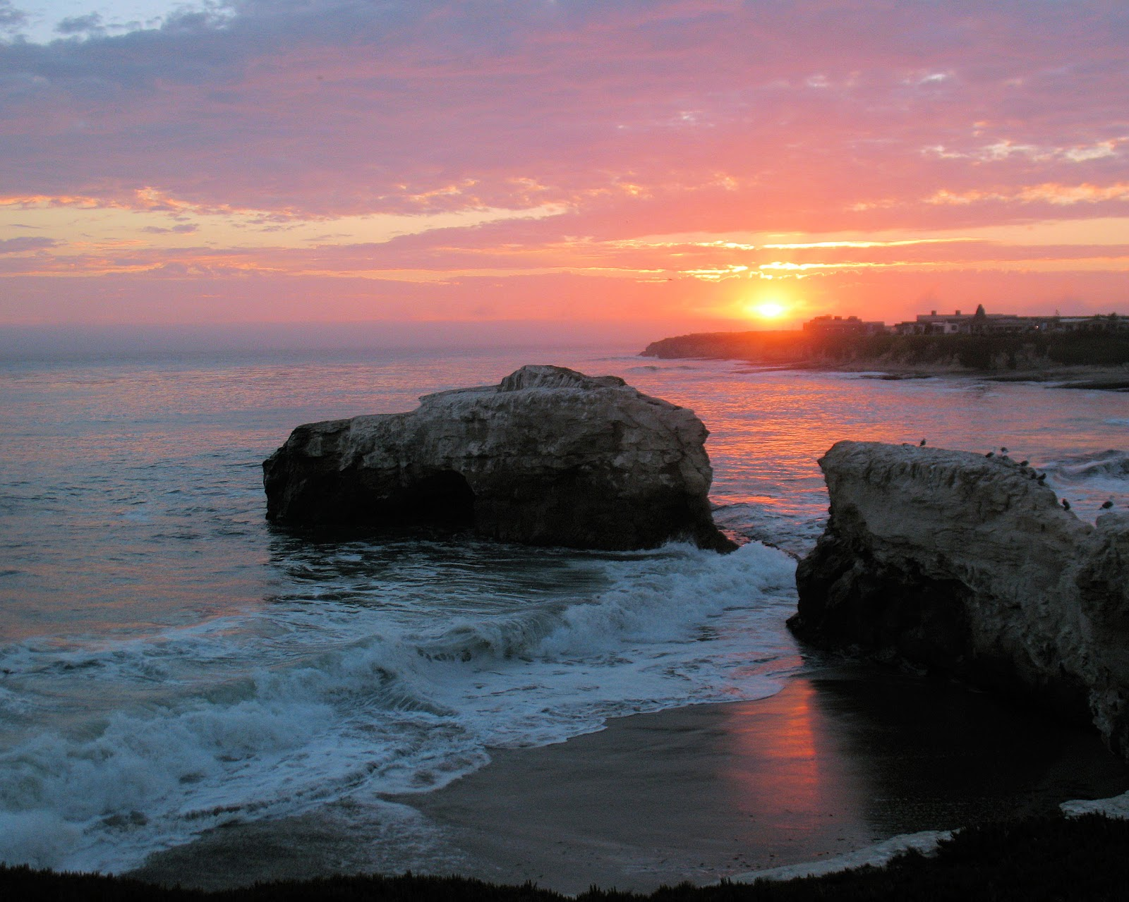 California Beach Beautiful Sunset Wallpaper Beach Wallpaper