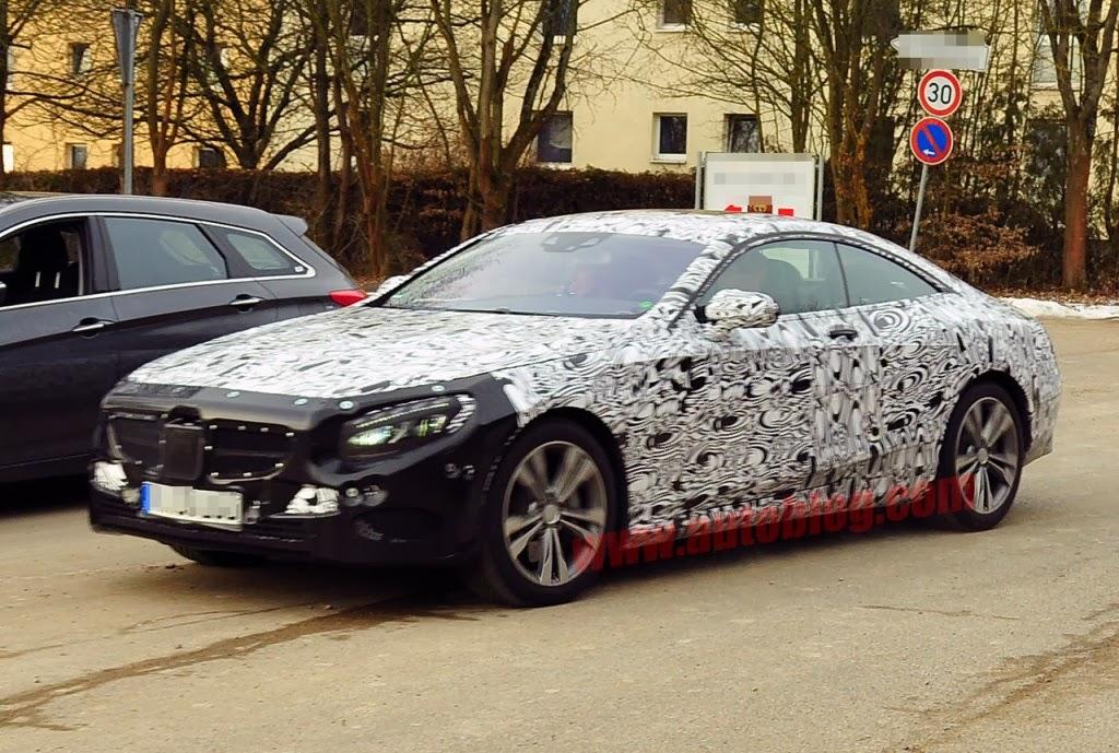 Mercedes S-Class Coupe Car Wallpaper # 546
