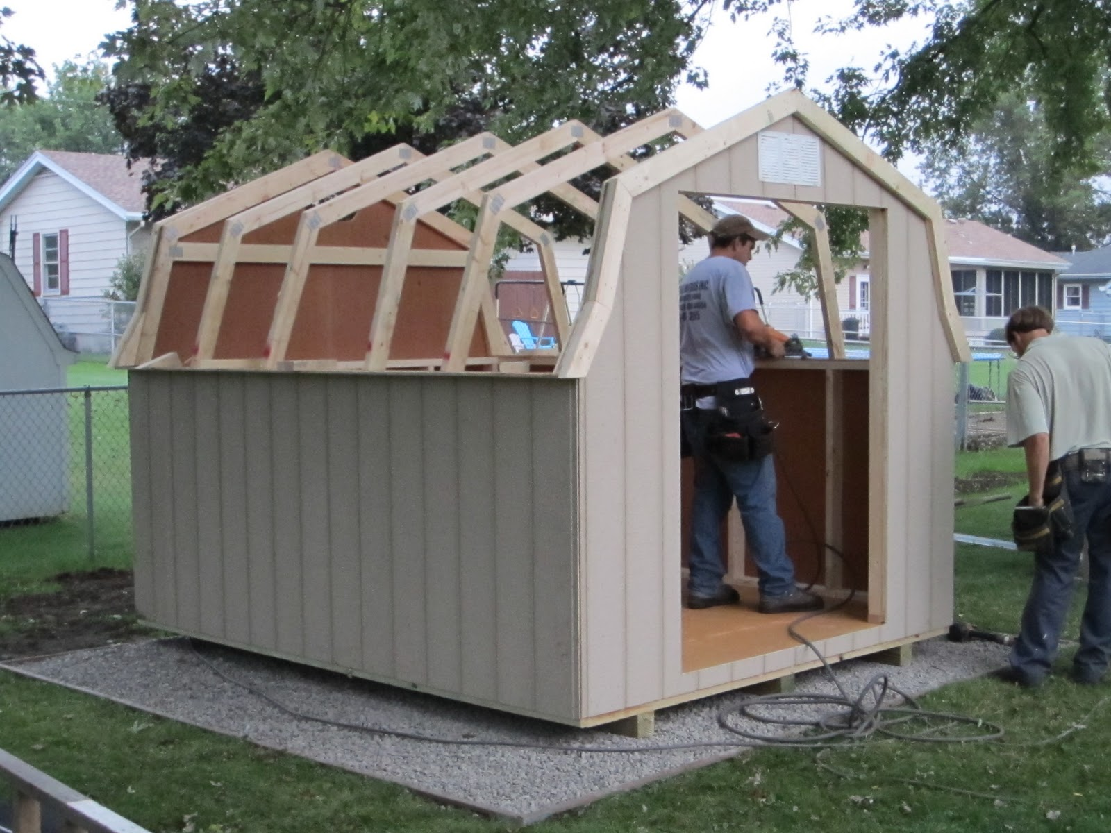 Shed Construction Complete