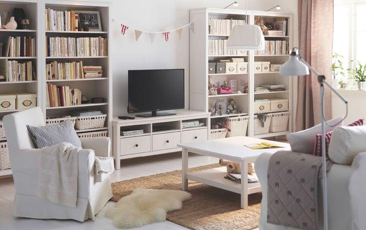 Hogar diez Serie Ikea Hemnes en tu salón