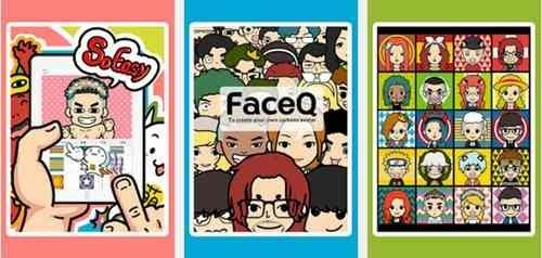 Aplikasi pembuat wajah kartun Android