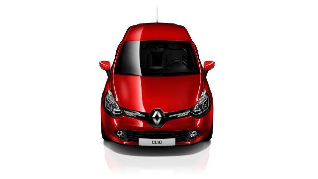 New Renault Clio front up
