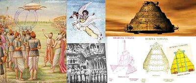 Representacion-de-las-Vimanas-las-naves-de-los-dioses